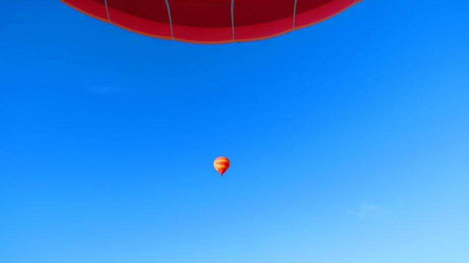 Ab in die Luft….