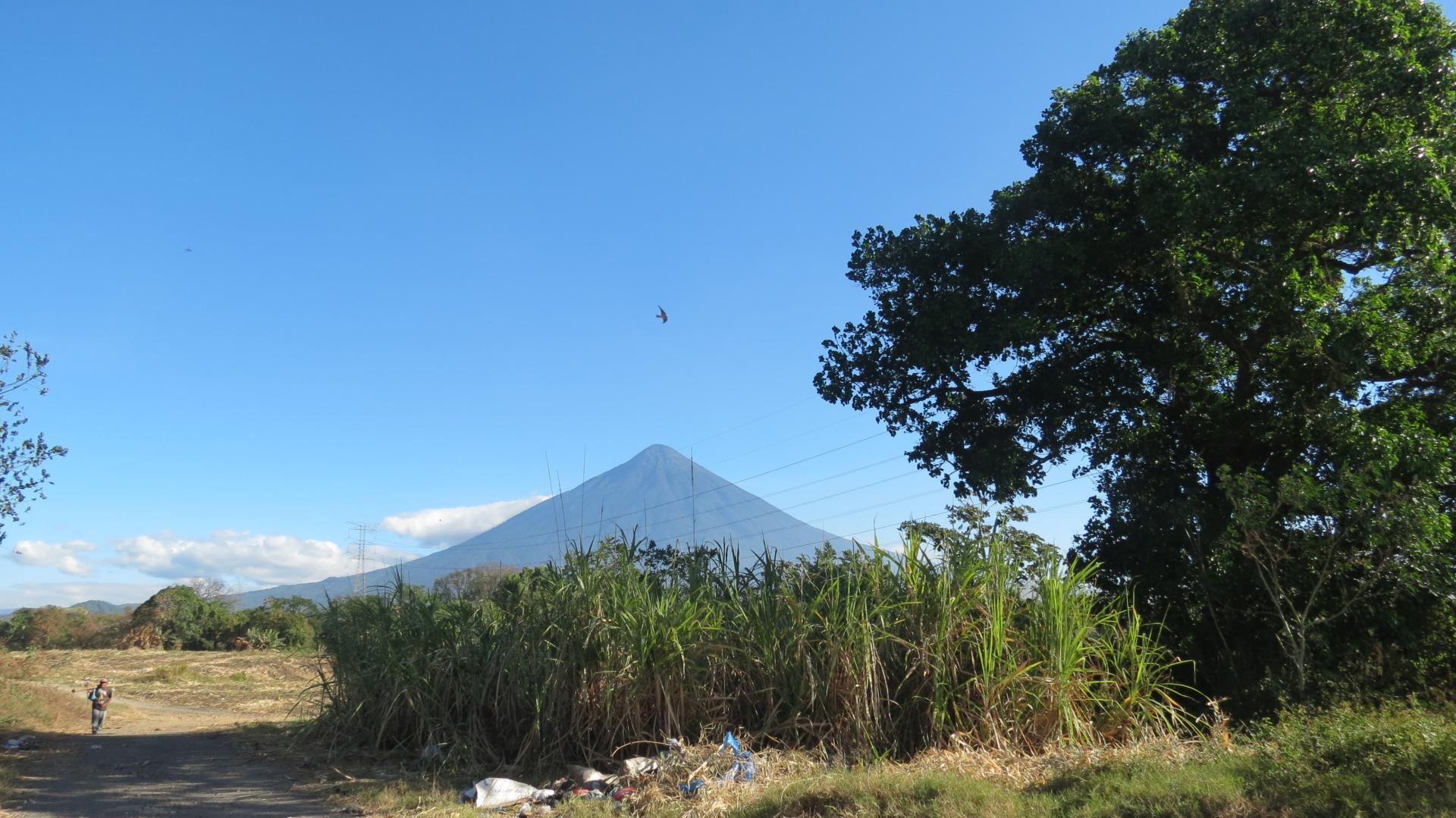 Ruhiger Vulkan