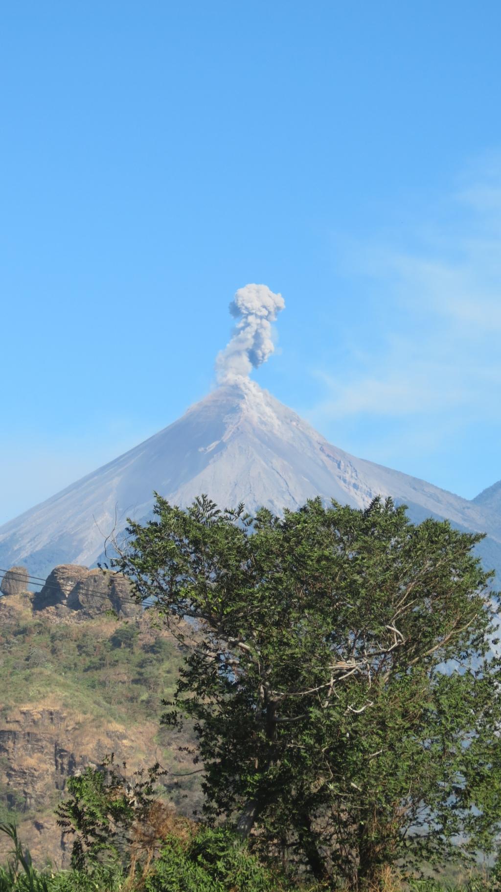 Wütender Vulkan...