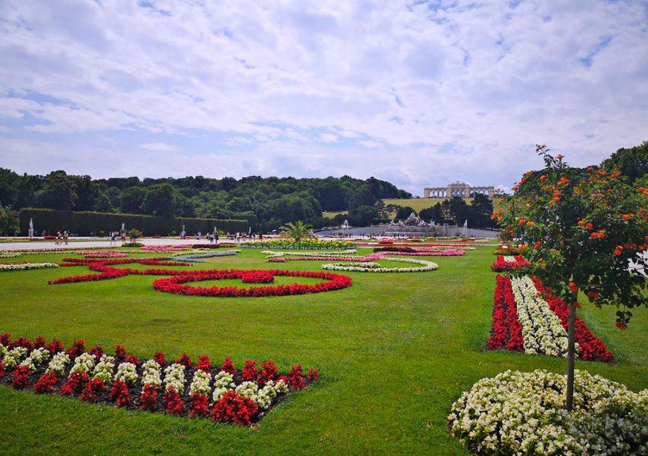 Neu im Programm: Schloss Schönbrunn mit Gärten, erstmals am 18.9.2020